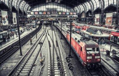 Картина станция