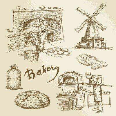 Картина baker, bakery, bread