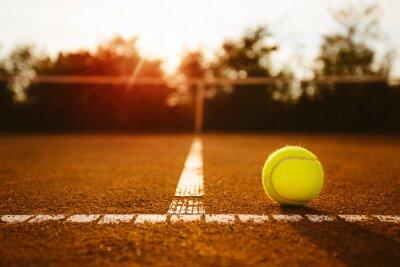Картина Бал на теннисном корте