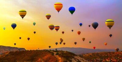 Картина воздушные шары CappadociaTurkey.