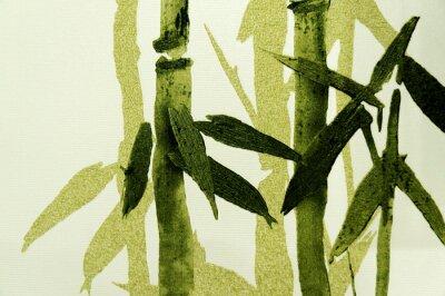 Картина Бамбук / текстуры