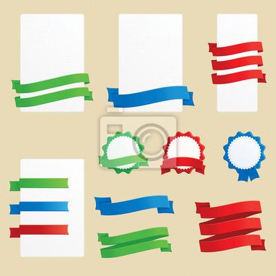 Баннеры, ленты и значки
