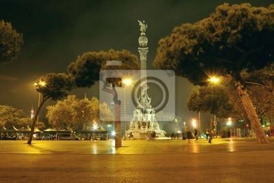 Барселона ночь