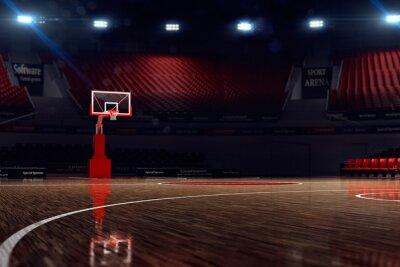 Картина Баскетбольная площадка.