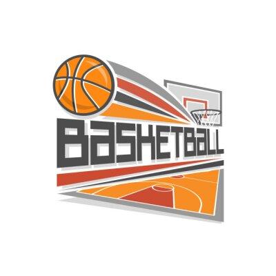 Картина Баскетбол логотип