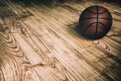 Картина Баскетбол на лиственных пород 2