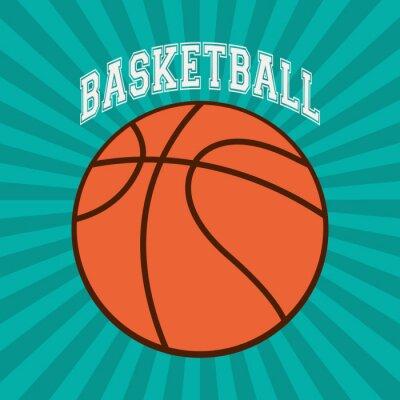 Картина Баскетбол спортивный дизайн