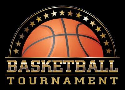 Картина Турнир по баскетболу