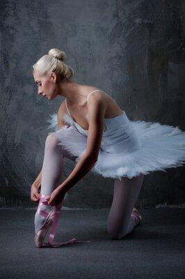 Картина Красивая балерина