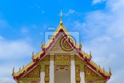 красивый буддийский храм крыши в Loei, Таиланд