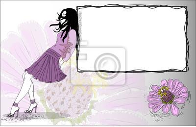 красивая девушка в стильные босоножки на высоком каблуке