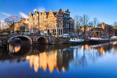 Картина Красивый образ мирового наследия ЮНЕСКО каналов на