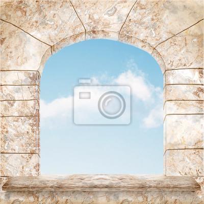 красивые окна мрамора