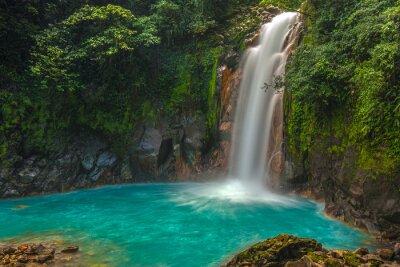 Картина Красивая Рио Селесте Водопад