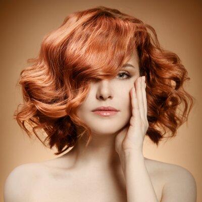 Картина Красота Портрет. Вьющихся волос