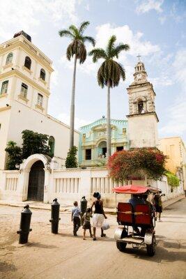 Картина Белен монастырь, Гавана