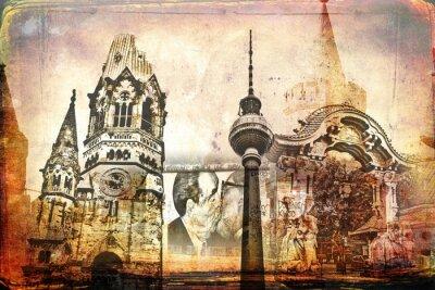Картина Берлин искусство иллюстрации дизайн