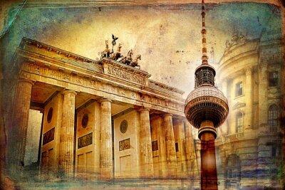 Картина Берлин искусства иллюстрации дизайн