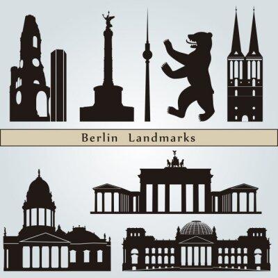 Картина Ориентиры Берлин и памятники