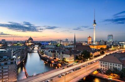 Картина Берлин Skyline Панорама