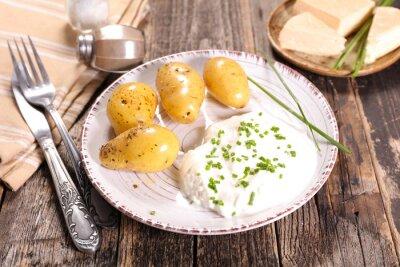 Картина bibeleskaes, творог и картофель