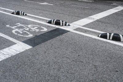 Картина Велосипедные дорожки в городе