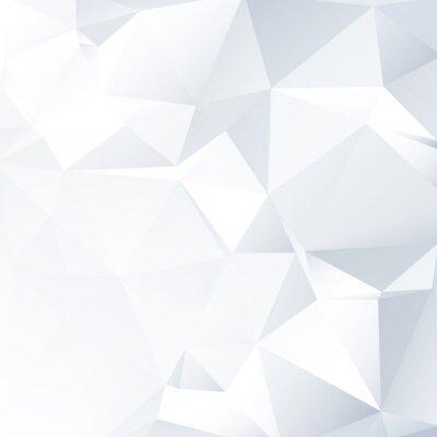 Картина Черный и белый фон вектор Lowpoly | EPS10 Дизайн