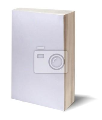 пустой белый книга ж / путь