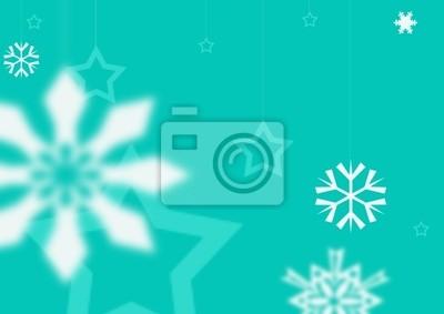 синий Рождество