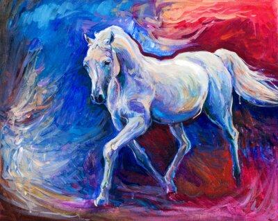 Картина Синий конь