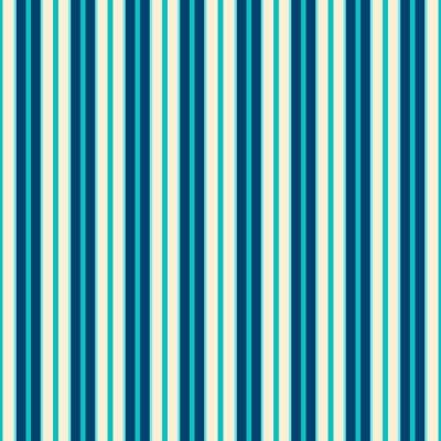 Картина Blue Lines Pattern