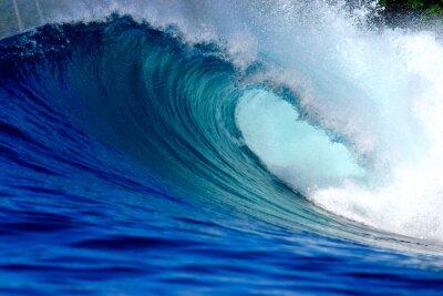 Картина Голубой океан волна серфинг