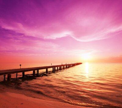 Картина Boardwalk на пляже