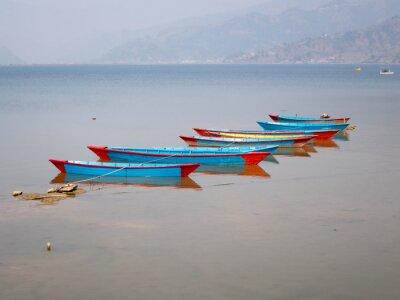 Картина Лодки на озере FEWA