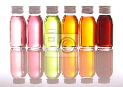 бутылки с эфирными маслами