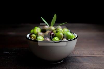 Ciotola электронной оливковое