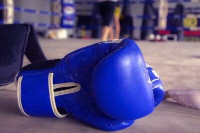 Картина Боксерские перчатки Синий