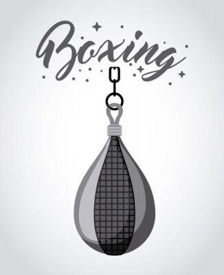 Картина бокс спорт дизайн