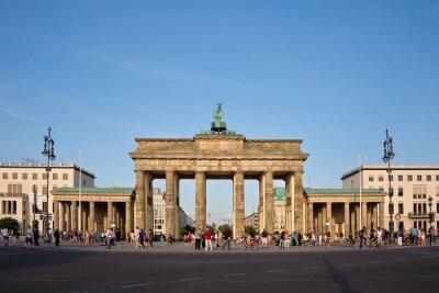 Картина Бранденбургские ворота, Берлин, Германия
