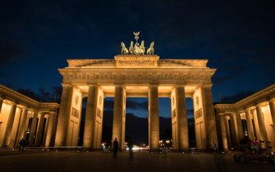 Картина Бранденбургские ворота Берлин Германия