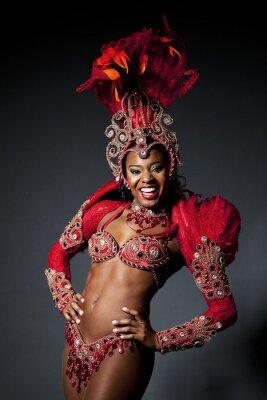 Картина Бразильской самбы Танцовщица