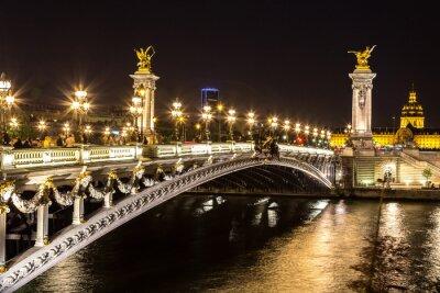 Картина Мост Александра III в Париже