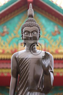 Картина Будда в храме в Накхон Ratchassima
