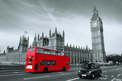 Картина Автобус в Лондоне