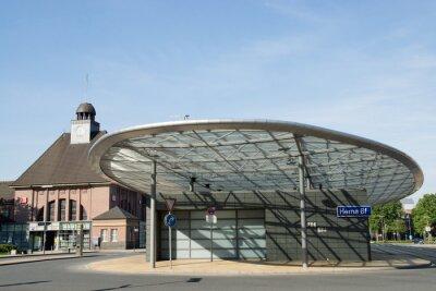 Картина Автовокзал в Херне, Северный Рейн-Вестфалия, Германия