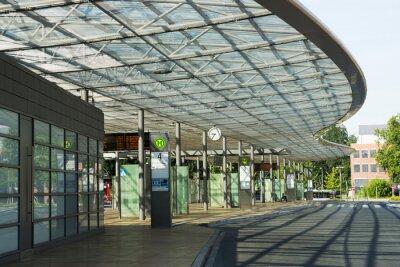 Картина Busbahnhof in Herne, nrw, Deutschland
