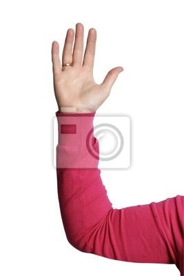 предприниматель подняв руку