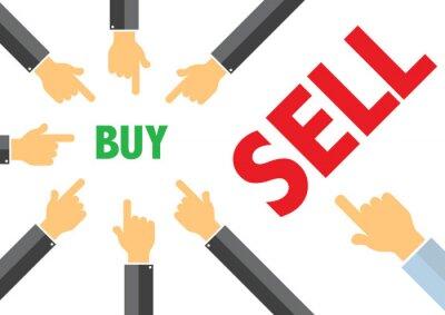 покупка, продажа - покупка продажа концепции иллюстрации