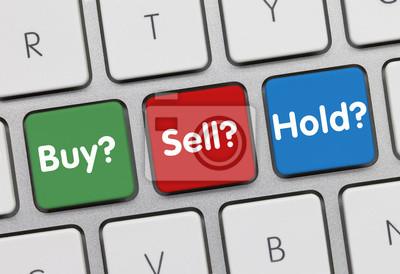 Купля-продажа удержания клавиатуры инвесторов