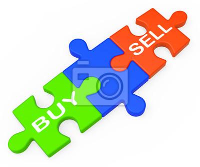 Купить Продать Показывает Business Trade Или Акции